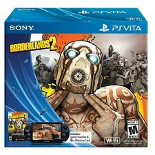 New Sony Playstation PS Vita Borderlands 2 Bundle WiFi Black Console System
