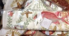 "Pottery Barn Ocean Critters Table Runner 108"" Lobster Red Snapper Starfish Crab"