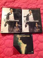 CONSTANTINE DVD 2005 ACTION OCCULT MOVIE 2 DISCS KEANU REEVES + SNEAK PEEK PROMO