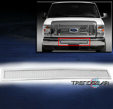 2008-2013 FORD E-SERIES/ECONOLINE VAN FRONT BUMPER STAINLESS STEEL MESH GRILLE