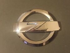 1x REAR 370Z CHROME SILVER Z LOGO BADGE EMBLEM 370 Z FAIRLADY