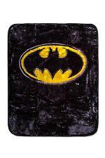 Batman Emblem Luxury Royal Plush Baby Size Size Blanket Super Soft 43x51 Inches