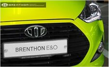 Brenthon Grill Trunk Emblem Badge For 2011~2016+ Hyundai Veloster Turbo 2PC