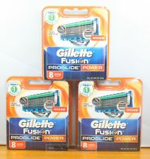 Gillette Fusion Proglide Power flexball Razor Refill Cartridges 8 X 3[24 Blades]