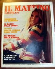 1978 NAPOLI - MATTINO ILLUSTRATO LA VILLA COMUNALE DI NAPOLI (VITTORIO PALIOTTI)