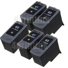 5 PK PG-40 CL41 Ink for Canon PIXMA iP1600 iP1700 iP1800 iP2600 (show Ink level)