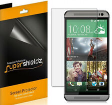 6X Supershieldz HD Clear Screen Protector Shield Guard Saver Film For HTC One M9