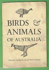 #T44.  1961  BIRDS & ANIMALS OF AUSTRALIA   SANITARIUM CARD SET IN THE FOLDER