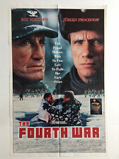 FOURTH WAR (Fine) Movie Poster 1990 1SH One Sheet Folded Cold War Russians 2084b