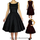RK88 Rockabilly 50s Pin Up Cocktail Party Evening Retro Swing Dance Formal Dress