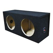 "Qpower QSOLO82HOLE Dual 8"" Sealed Woofer Box"
