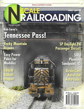 N Scale Railroading May 2009 Kato SP Daylight Deisel Tennessee Pass Aspens GB&W