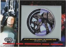 STAR WARS GALACTIC FILES PR-10 EMBROIDERED PATCH AT-AT WALKER CREW BLIZZARD ONE