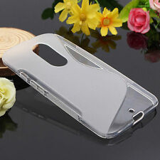 HOUSSE ETUI COQUE SILICONE GEL TRANSPARENT MOTOROLA MOTO X ( 2e Generation )