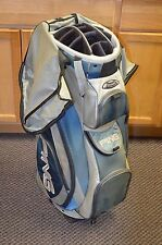 "*Ping Pioneer LC Gray / Blue 34"" Tall Cart Golf Bag Free Shipping"