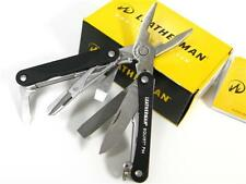 LEATHERMAN Black Squirt PS4 MULTI-TOOL PLIER 831195 New