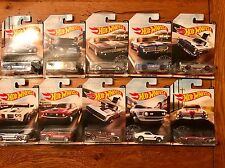 2017 Hot Wheels VINTAGE AMERICAN MUSCLE Set of all 10 Ten Cars Walmart Exclusive
