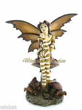 "Amy Brown Signature Series ""Autumn Tranquility"" Goth Fairy Figurine Retired 2006"