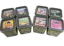 3kg BAIT TECH HALIBUT MARINE METHOD MIX IN CAMO BUCKET FOR CARP / COARSE FISHING