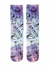 Disney Lilo & Stitch Tie Dye Socks Size 9-11 Shoe Size 4-10 NWT Authentic Disney