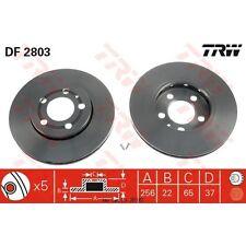 Disque de frein, 1 unités trw df2803