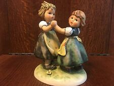"Goebel Hummel #353/1 ""Spring Dance""Large  TMK5 VNC 6-3/4"" Tall"
