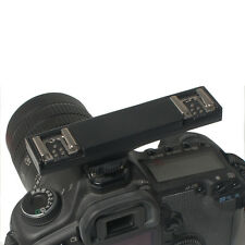 Wansen Dual Hot Shoe Flash Speedlite Light Trigger Bracket Splitter For Nikon