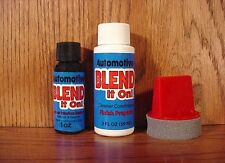 BLACK ~ Automotive Blend it On ~ 1oz Touch UP Kit ~ Leather Car Seat Refinish