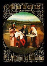 Hieronymus Bosch Das Steinschneiden Arzt Nonne Faksimile 2 auf Büttenpapier