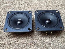 "Set of Jamo 20132 2"" Paper Cone Tweeters / Matched 6 ohm Tweeters / NOS"