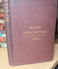 1880 - BRITISH WILD FLOWERS by NATURAL ANALYSIS, by FREDERICK A MESSER