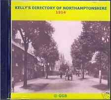 GENEALOGY DIRECTORY OF NORTHAMPTONSHIRE 1914 CD