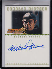 2002 STAR TREK THE NEXT GENERATION MALACHI THRONE DIED MAR13,2013 AUTO AUTOGRAPH