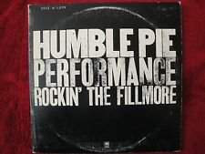 """HUMBLE PIE """"PERFORMANCE ROCKIN' THE FILLMORE"""" 1971 A & M RECORDS SP-3506, STEREO"""