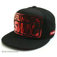 New DRUNKEN SWAG Snapback Hat KPOP Men Women Fashion Baseball Hiphop Running Cap