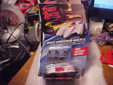 Hot Wheels Speed Racer Race-Wrecked Mach 5 with Jump Jacks and Movie Booklet