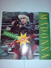 MADONNA - 7 INCH - CAUSING A COMMOTION