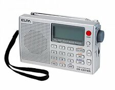 ELPA World Band Receiver Portable Radio FM AM AIR ER-C57WR from Japan