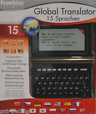 Franklin Global Translator m520 15 lingue oltre 1,6 milioni di voci NUOVO
