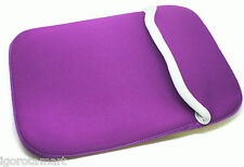 """Purple Carry Protect Sleeve Cover Bag Case Fr 17 17"""" inch Laptop iPad Tablet New"""