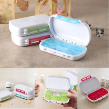 Gift New Medicine Box Storage Case Portable Tablets Small Kit Travel Pill Box