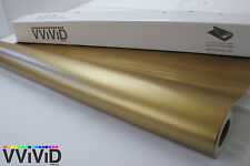 Matte Gold Vinyl Wrap for Car Bike Boat Trailer 5ft x 5.5ft Air Release MGO5M