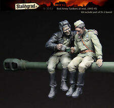STALINGRAD MINIATURES, 1:35, Red Army Tankers At Rest, 1943-45, S-3572