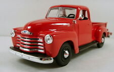 "Maisto 1950 Chevy 3100 Pickup truck 1:25 scale 7.5"" diecast model car Red M36"