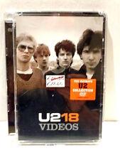 U2  -  18  -  VIDEOS  -  DVD 2006 JEWELCASE  NUOVO E SIGILLATO