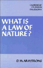What is a Law of Nature? (Cambridge Studies in Philosophy), Armstrong, D. M., Ne