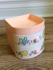 Vintage SANRIO Melody Jewelry Case Box with Drawers Missing Cover Made in Japan