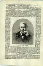 1880 Overview Of The Life Of Thomas Carlyle Burglary At Lord Harbeerton