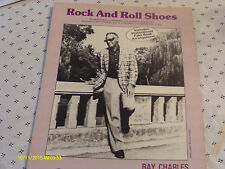 Ray Charles Rock And Roll Shoes 1984 Photo Sheet Music