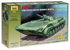 ZVEZDA 3553 SOVIET INFANTRY FIGHTING VECHICLE BMP-1 SCALE MODEL KIT 1/35 NEW